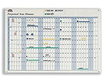 officeforce perpetual year planner for any year complete with