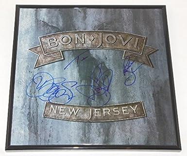 Bon Jovi New Jersey Richie Sambora David Bryan Tico Torres Jon Bon ...
