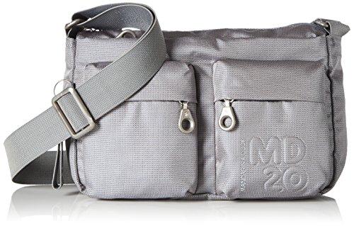 Mandarina Duck Md20 Minuteria - Shoppers y bolsos de hombro Mujer Gris (Paloma)