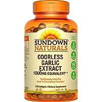 Rexall Sundown 250 Odorless Naturals Garlic Extract