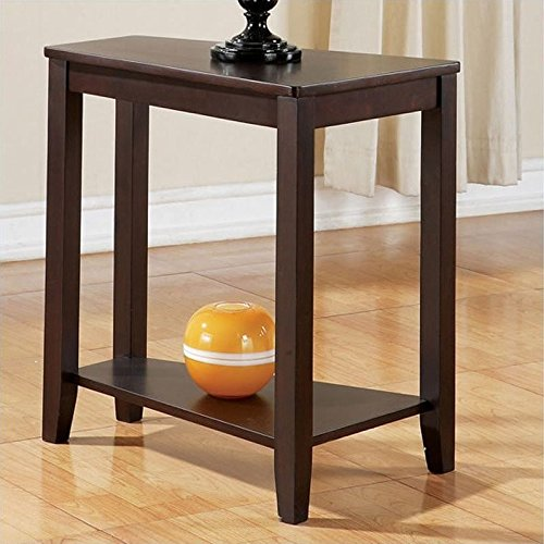 Joel Chairside End Table in Cherry Finish