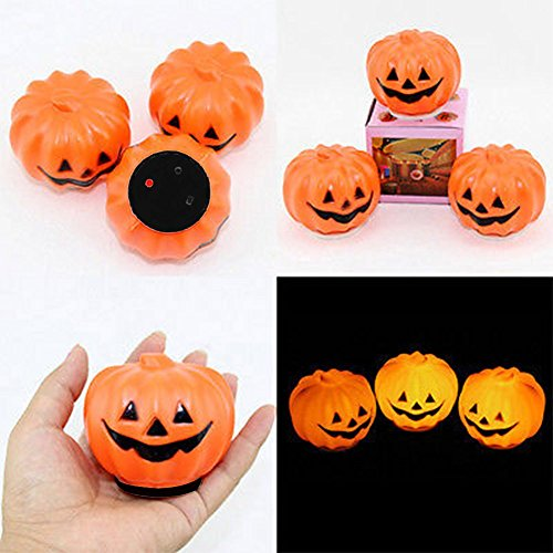 Ayutthaya shop One party piece Halloween Jack - O- LED lamp night light pumpkin decorating -