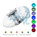 Linkax Solar Floating Light Pond Light Pool Light Color Changing Globe Floating Night Light Waterproof PC Ball Solar Light for Swimming Pool Pond Garden Party Home Decoration (1 PC)