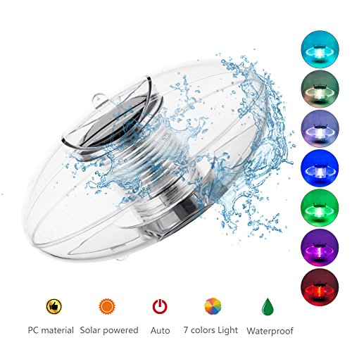 Rechargeable Floating Led Swimming Pool Light