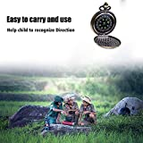 Kakuru Vintage Pocket Compass for Kids Classic