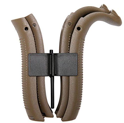 Glock Gen4 Beavertail Backstrap Kit FDE - G17,22,31,34,35, and 37