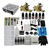 Redscorpion Beginner Tattoo Kit 2 Tattoo Machine Digtal Tattoo Power Sdupply USA Orignal Tattoo Ink for Tattoo Kit Supply
