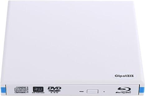 cipotziz externa Blu-Ray Combo Drive, USB 3.0, aluminio 3d ...
