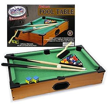 desktop miniature pool table set with mini pool balls cue sticks accessories. Black Bedroom Furniture Sets. Home Design Ideas