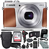 Canon PowerShot G9 X Mark II Digital Camera (Silver) W/ 32GB SD Card, and Basic Accessory Bundle