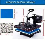 12X15 Inch Heat Press Machine for Shirt Combo