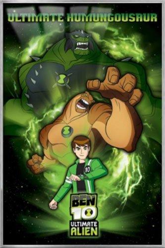 Amazon com: Ben 10: Ultimate Alien - Framed TV Show Poster