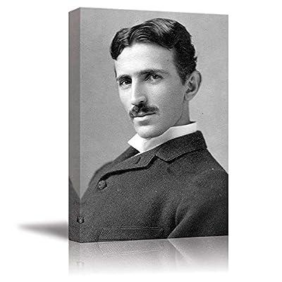 Magnificent Print, Portrait of Nikola Tesla Inspirational Famous People Series, Quality Artwork
