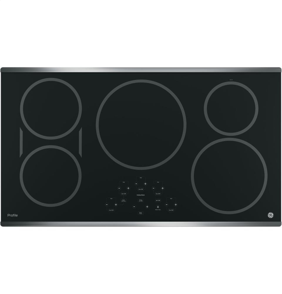 GE PHP9036SJSS Profile 36'' Stainless Steel Electric Induction Cooktop (Certified Refurbished)