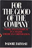 For the Good of the Company, Isadore Barmash, 0448122456