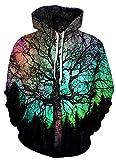 Azuki Premium 3D Printed Unisex Hoodie Novelty Teen Gaming Sweatshirt Pullover XL