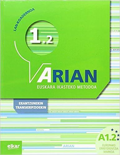 Arian A1.2 Lan Koadernoa: por Batzuen Artean epub