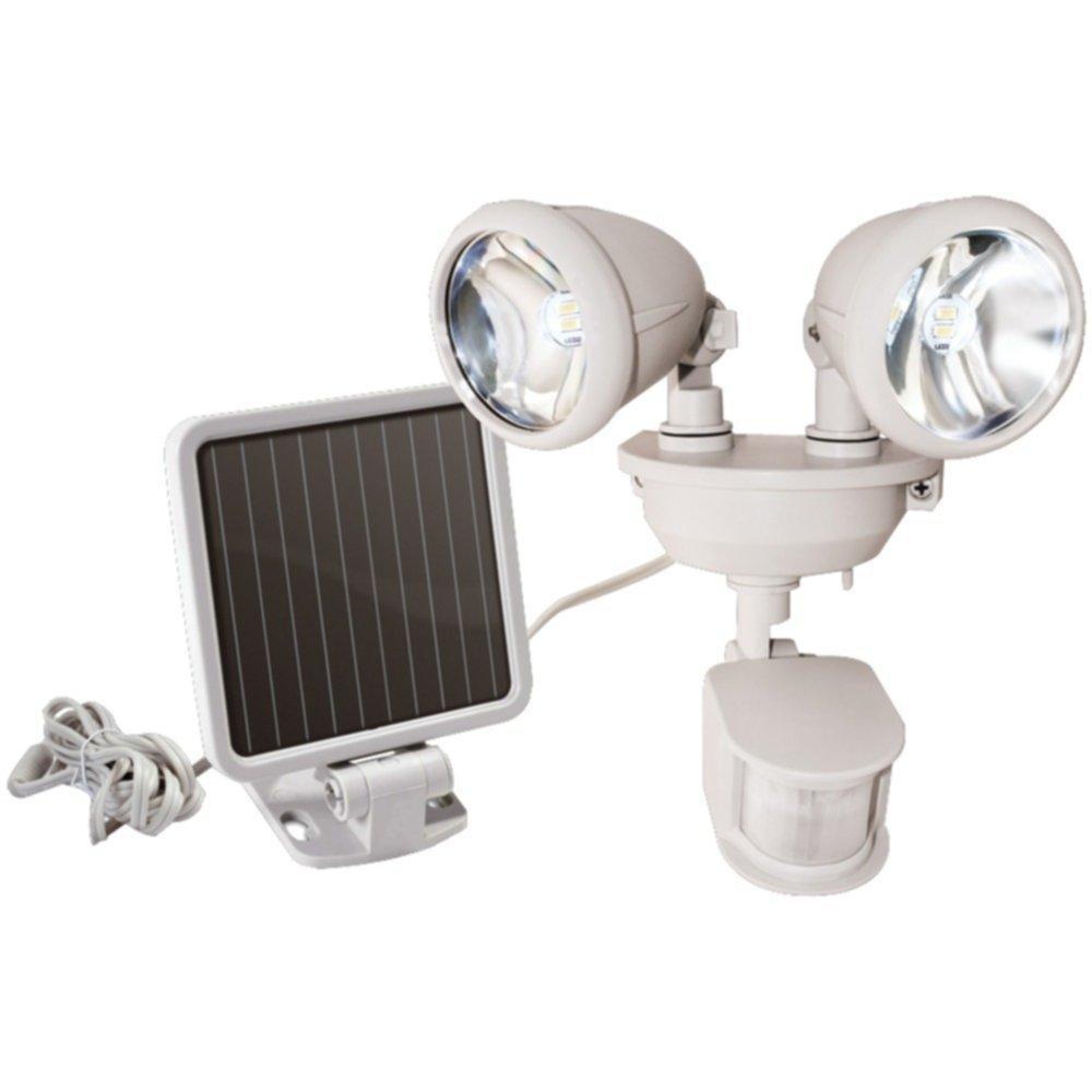 MAXSA INNOVATIONS 44218 Dual-Head Solar Spotlight (Off White) consumer electronics Electronics