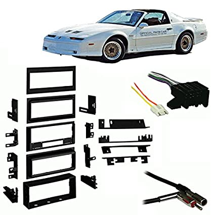 51p2WMuaDWL._SX425_ amazon com fits pontiac firebird trans am 88 89 single din harness