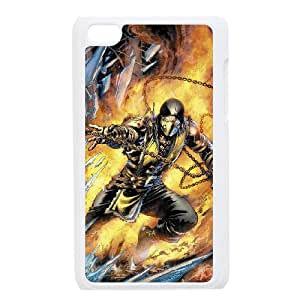 VNCASE White Mortal Kombat X Phone Case For Ipod Touch 4 [Pattern-6]