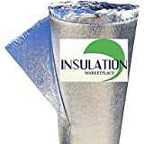 "SmartSHIELD -3mm 48""x10Ft Reflective Insulation Roll, Foam Core Radiant Barrier, Thermal Foil Insulation, Commercial…"