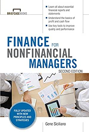 AmazonCom Finance For Nonfinancial Managers Second Edition