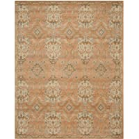 Safavieh Wyndham Collection WYD203A Handmade Terracotta Wool Area Rug, 8 feet by 10 feet (8 x 10)