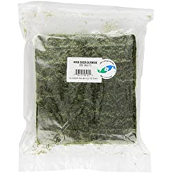 Two Little Fishies Atlsvgsb Sea Veg-Green Seaweed Bulk 100 Sheets