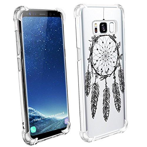 Price comparison product image Beryerbi Samsung Galaxy s8/s8 Plus Case Transparent Flexible TPU Anti-Scrape Technology Protective Cover (Galaxy s8 Plus, 6)