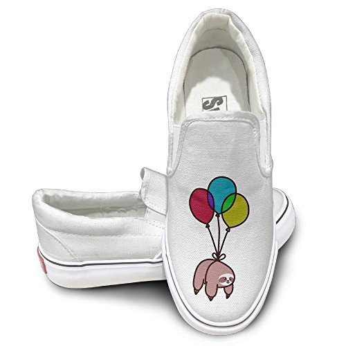 SH-rong Balloon Sloth Unisex Canvas Sneakers Shoes Size 39 (V-tech Gadget)