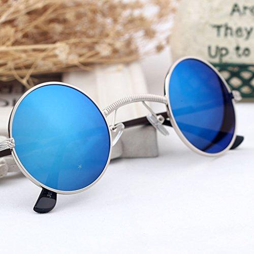 A amp; Unisexe Lunettes Soleil Lym amp;lunettes Protection B Mode x165 Rondes De couleur Féminine adRS7qw