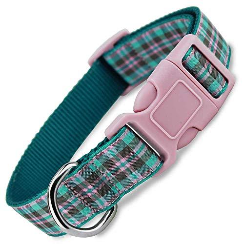 The Artful Canine Preppy Puppy Plaid Dog Collar,...