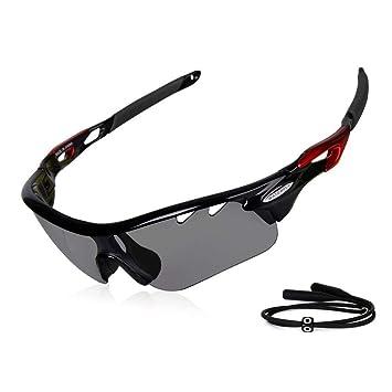 Gafas de sol fotocromáticas Gardom para ciclismo, con protección UV, lente que cambia de