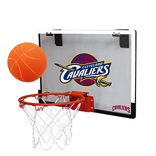Door Cavalier (NBA Cleveland Cavaliers Game On Indoor Basketball Hoop & Ball Set, Large, Maroon)