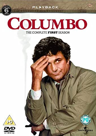 Columbo : The Complete 1st season - Boxset 6 DVD - Import Zone 2 UK (anglais uniquement) [Import (Columbo First Season Dvd)