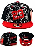 GREATEST PRODUCTS Chicago New Greatest 23 MJ Cracked Jordan Bulls Black White Red Cement Era Snapback Hat Cap