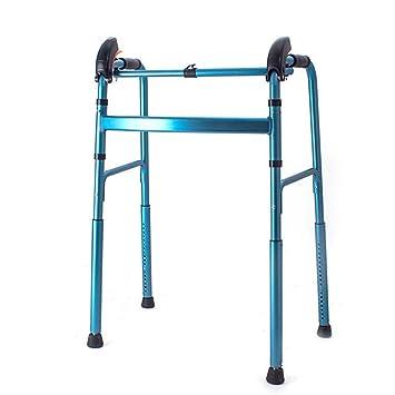 ZCPDP Andador para Ancianos sin Ruedas | Aluminio ...