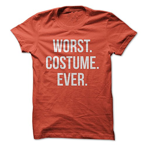 [Worst. Costume. Ever.-T-Shirt/Orange/4XL - Made On Demand in USA] (Costumes On Demand)