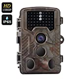 WEIKAILTD Game Cameras 1080P HD IP65 Waterproof Hunting Trail Scouting Camera with 1/3 Inch CMOS,16 Month Standby, 0.6 Second Trigger Time, 2.5 Inch Display