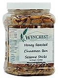 Honey Cinnamon Bun Sesame Chips - 2 Lb Tub