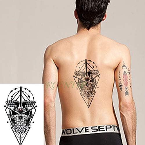 Yyoutop Impermeable e Etiqueta engomada del Tatuaje Escorpio Tatto ...