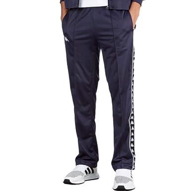 787faa3a23 Kappa Banda ASTORIAZZ Side Logo Slim Track Pants, Blue & Black ($70-Now