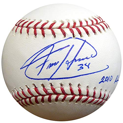 - Felix Hernandez Signed Auto Official MLB Baseball Seattle Mariners 2010 AL CY - PSA/DNA Certified