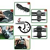 Blissun Lawn Aerator Shoes, 4 Aluminum Alloy