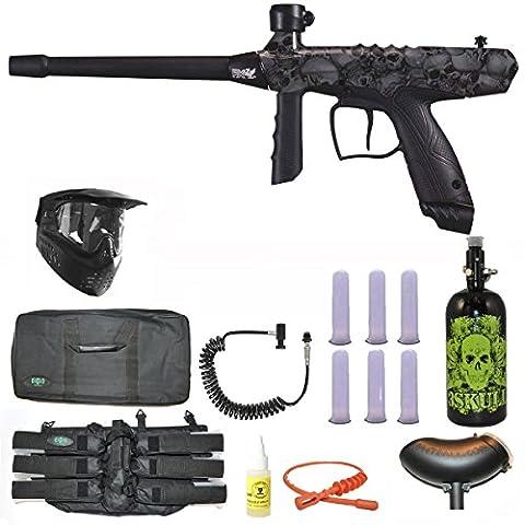 Tippmann Gryphon FX Paintball Marker Gun 3Skull N2 Sniper Set - Skulls - Gun Sniper Set
