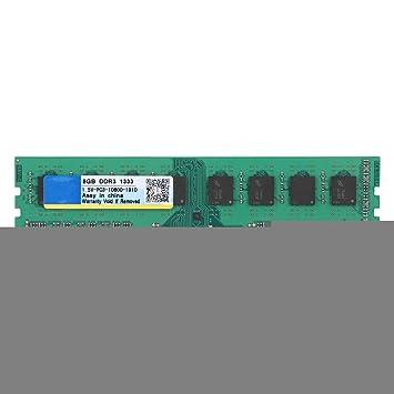 DDR3 1333 MHz 8G RAM de Memoria para PC3-10600 Computadora ...