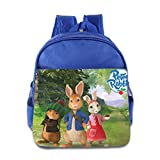Kids Peter Rabbit School Backpack Cute Baby Boys Girls School Bags RoyalBlue