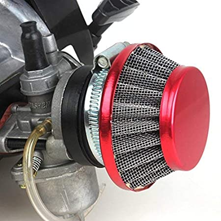 2-stroke Engine Motor 47cc for Pocket Mini Bike Scooter ATV 7T 25H Sprocket W//Racing Air Filter