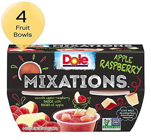 DOLE FRUIT BOWLS, MIXATIONS Apple Raspberry, 4 Ounce (4 Cups)