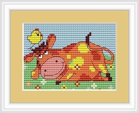 Cross stitch kit Baby  B1135